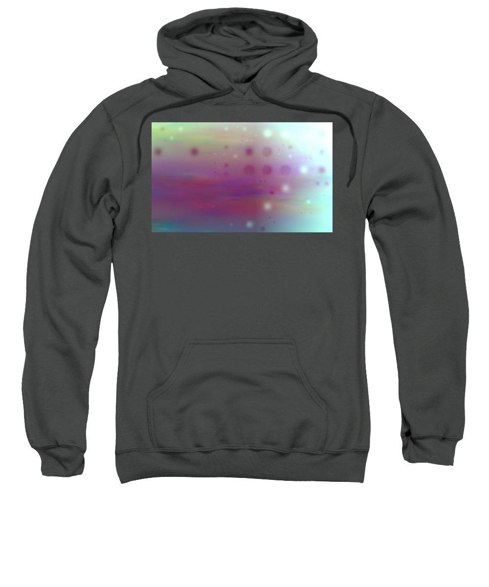 Art Digital Art Sweatshirt featuring the digital art Colour22mlv - Impressions by Alex Porter