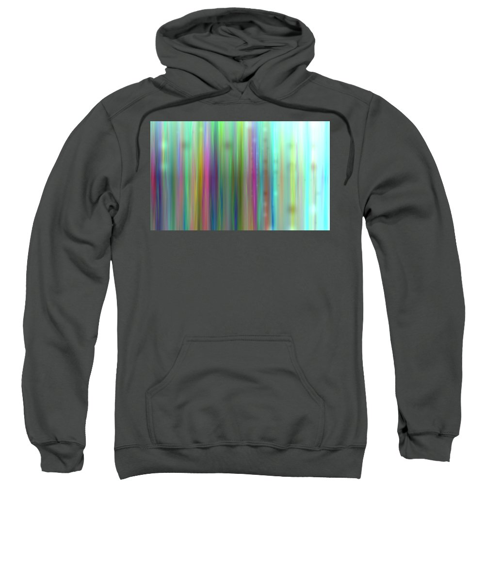 Art Digital Art Sweatshirt featuring the digital art Colour2mlv - Impressions by Alex Porter