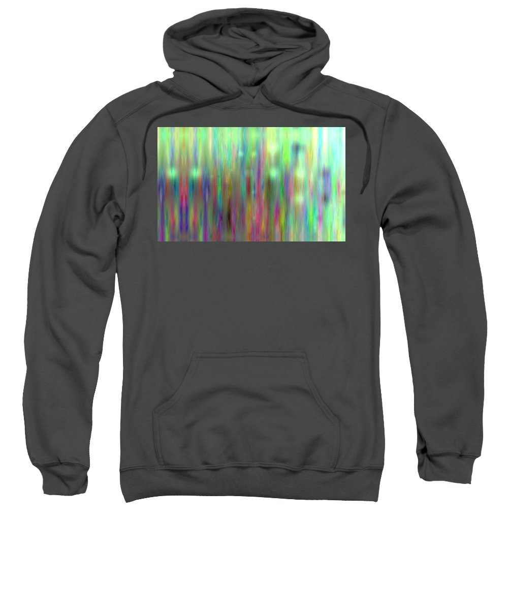 Art Digital Art Sweatshirt featuring the digital art Colour6mlv - Impressions by Alex Porter