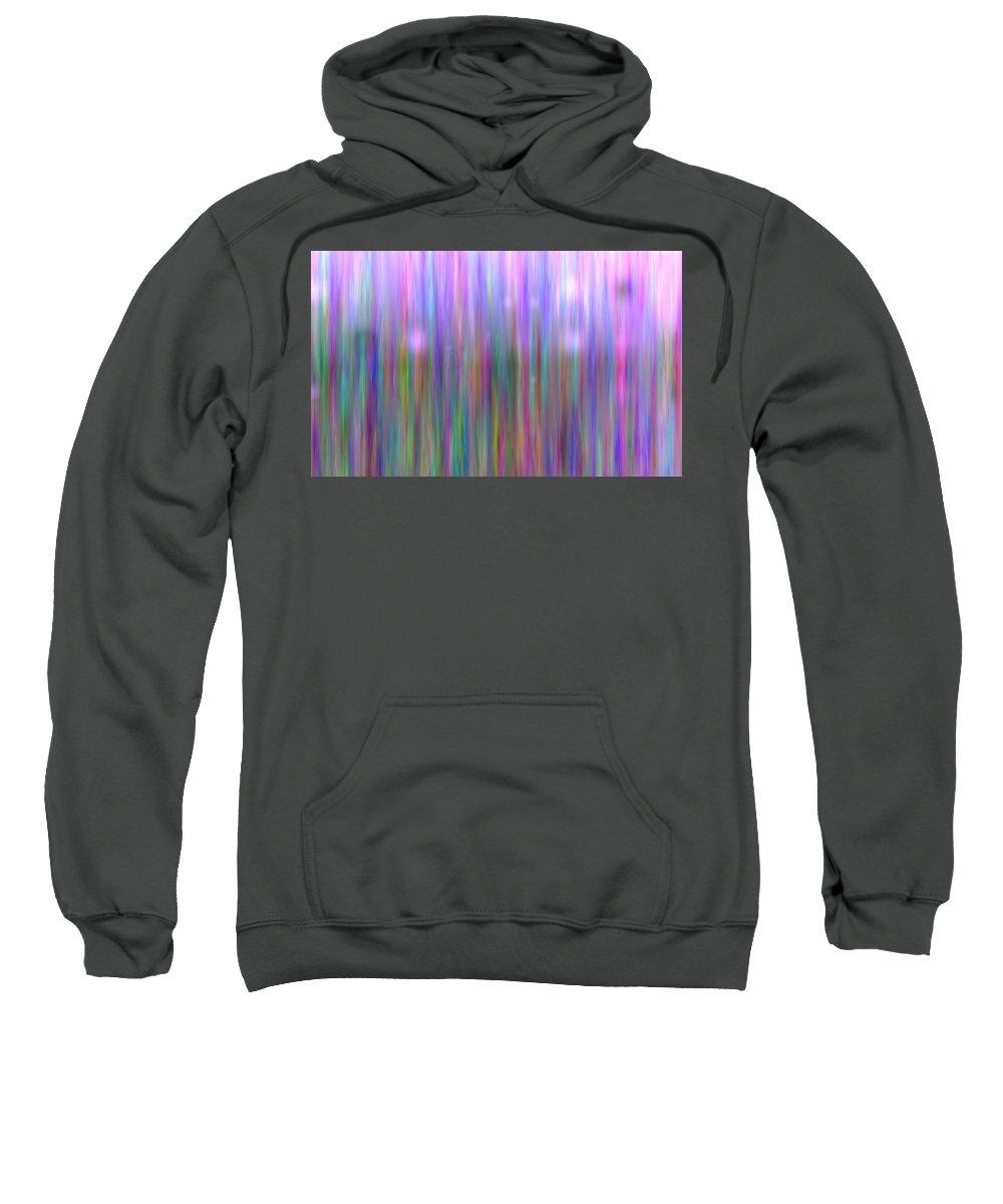 Art Digital Art Sweatshirt featuring the digital art Colour7mlv - Impressions by Alex Porter