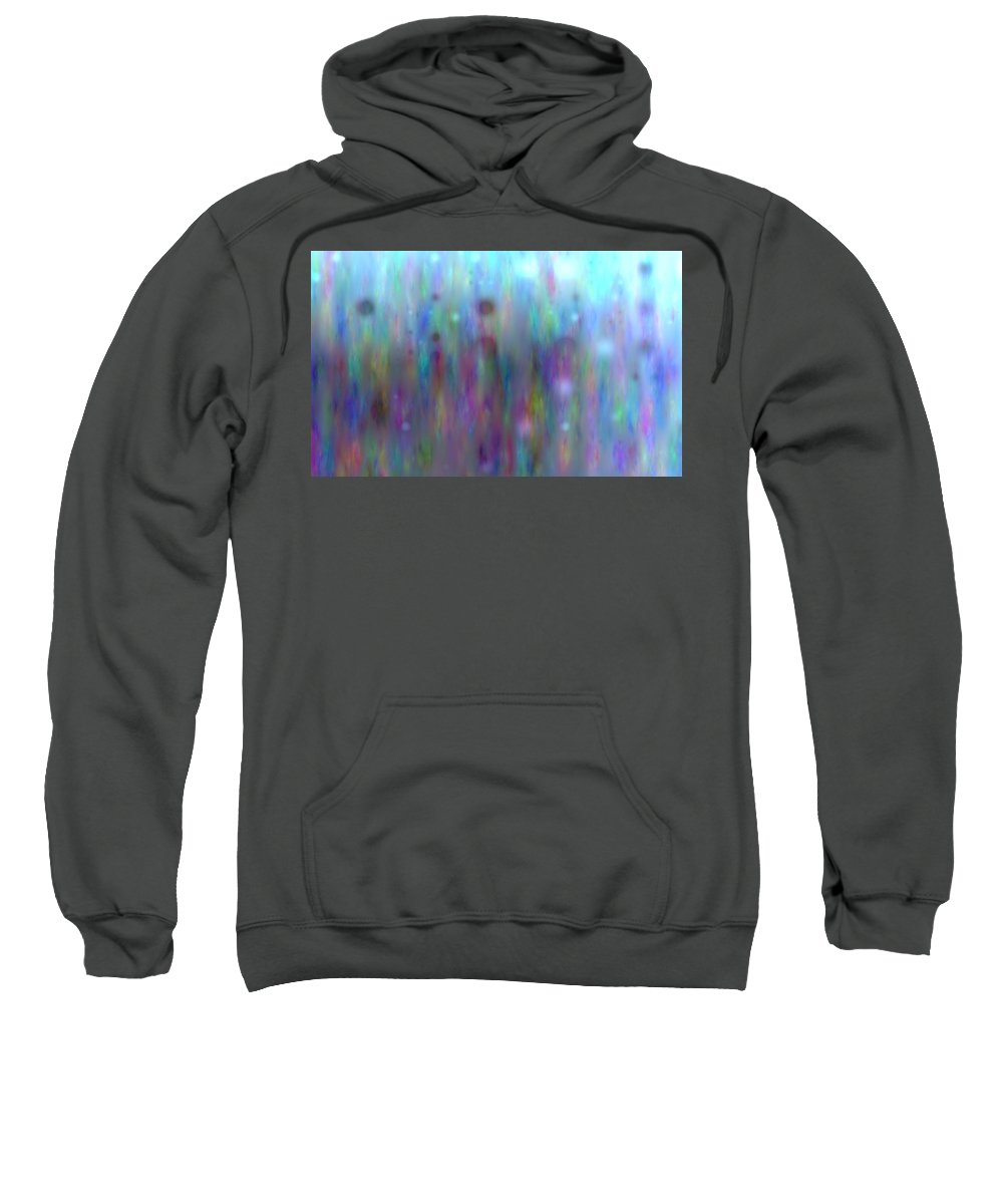 Art Digital Art Sweatshirt featuring the digital art Colour8mlv - Impressions by Alex Porter