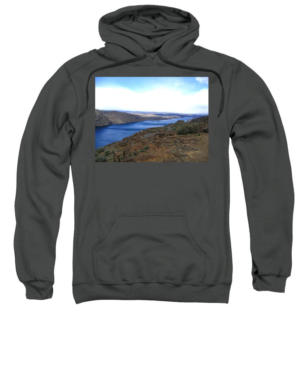 Columbia River Sweatshirt featuring the photograph Columbia River 2 by Will Borden