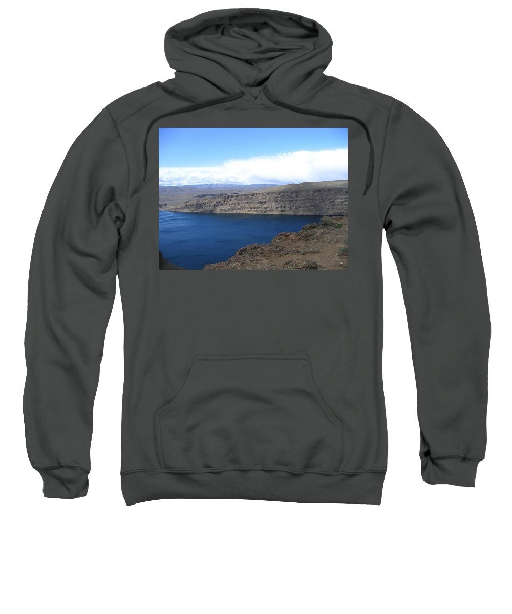 Columbia River Sweatshirt featuring the photograph Columbia River by Will Borden