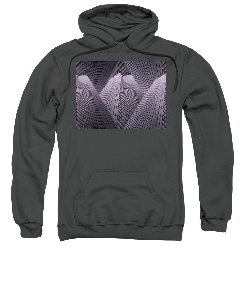 Seattle Sweatshirt featuring the digital art Columbia Tower Seattle Wa 2 by Tim Allen