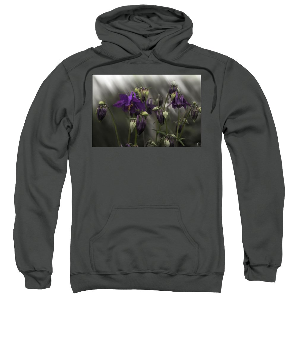 Columbine Sweatshirt featuring the photograph Columbine Mindscape by Wayne King