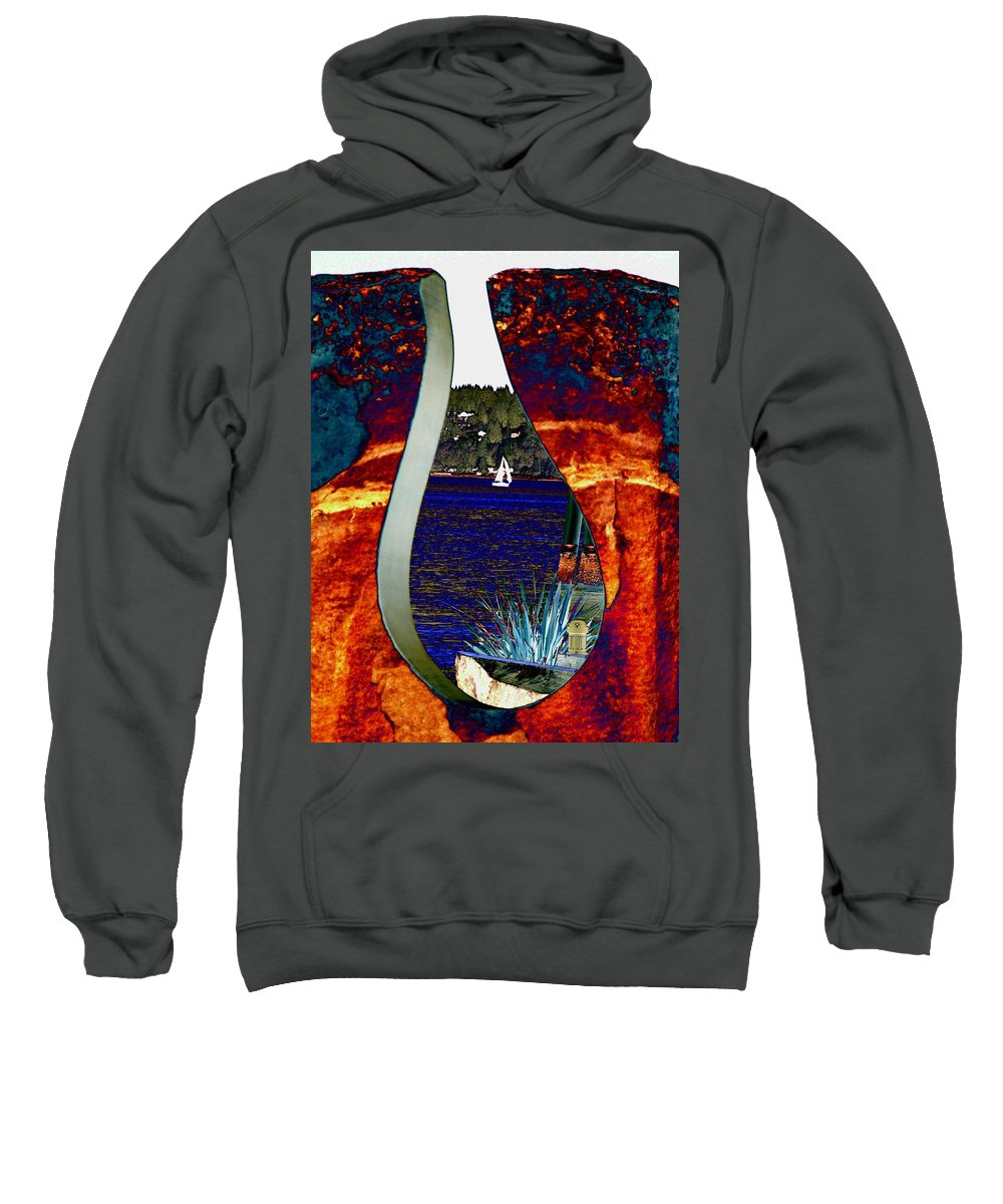 Bremerton Sweatshirt featuring the photograph Come Sail Away by Tim Allen