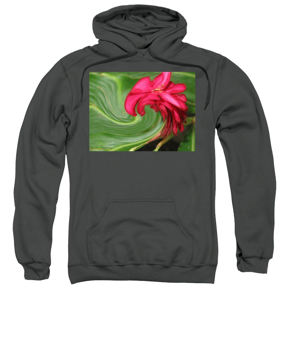Flower Sweatshirt featuring the photograph Come To Me by Ian MacDonald