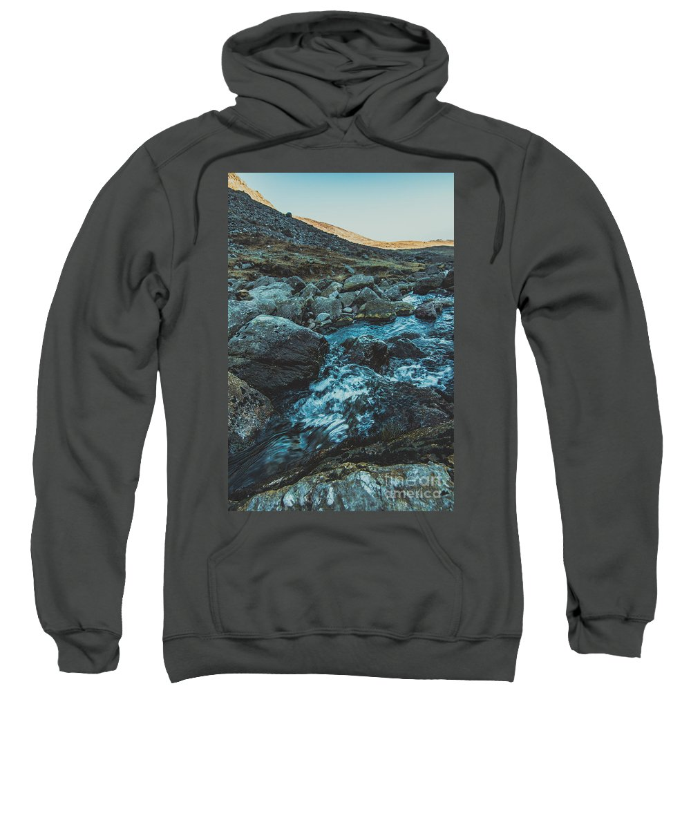 Sweatshirt featuring the photograph Comeragh River by Marc Daly
