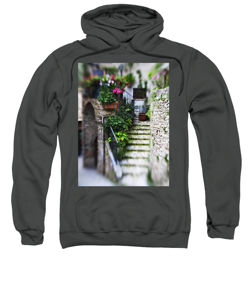 Home Sweatshirt featuring the photograph Coming Home by Marilyn Hunt