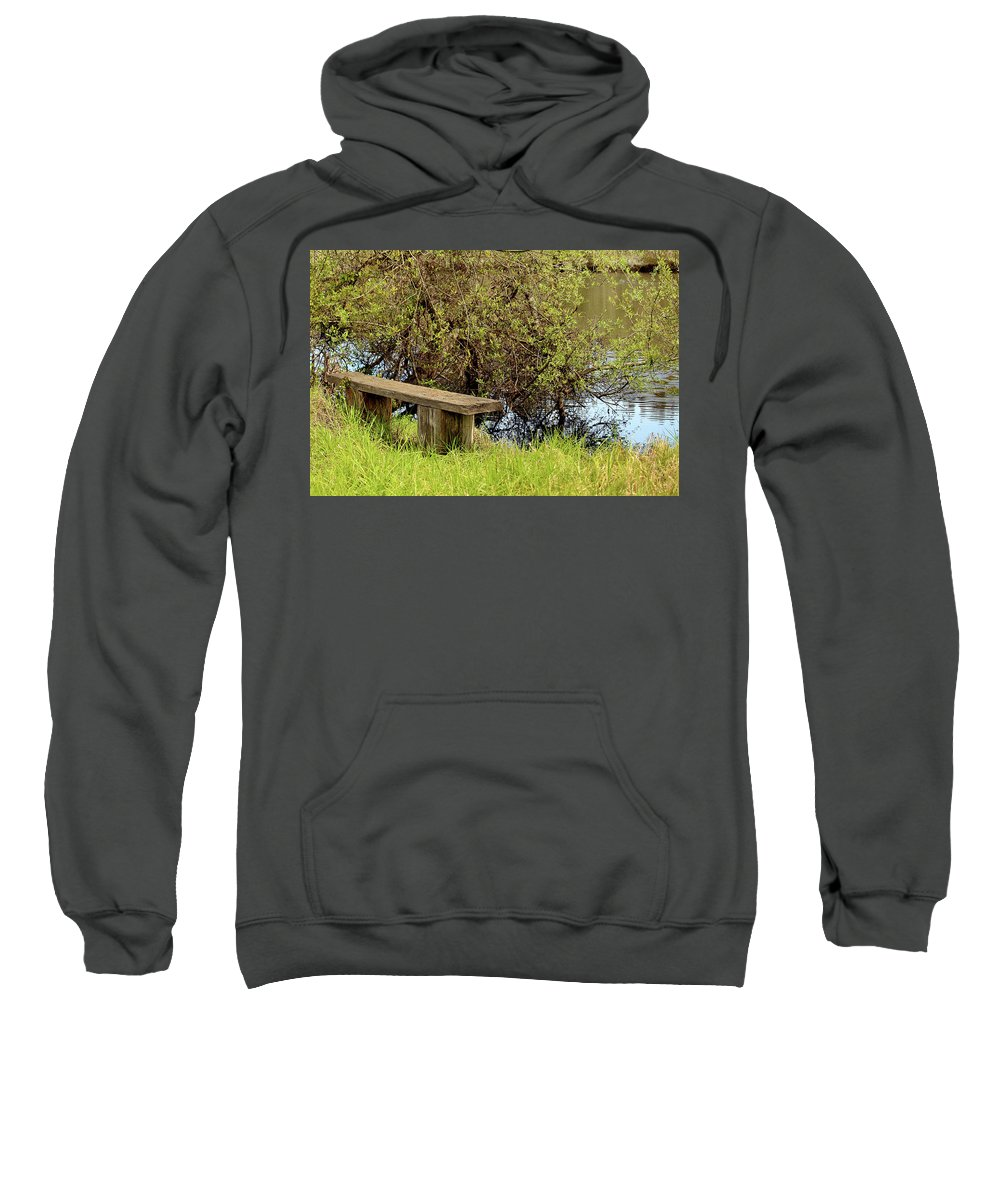 Oceano Sweatshirt featuring the photograph Communing With Nature by Art Block Collections