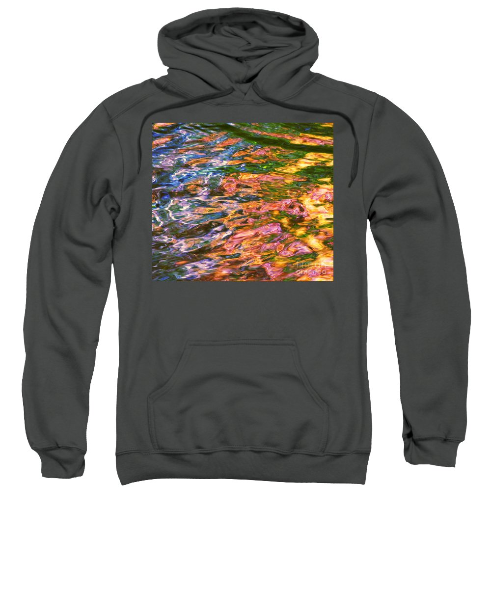 Water Art Sweatshirt featuring the photograph Competitive Forces by Sybil Staples