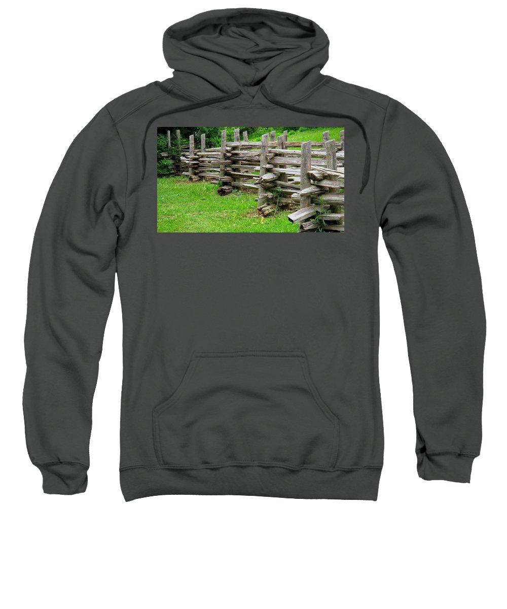 Split Sweatshirt featuring the photograph Complex Pattern by Ian MacDonald