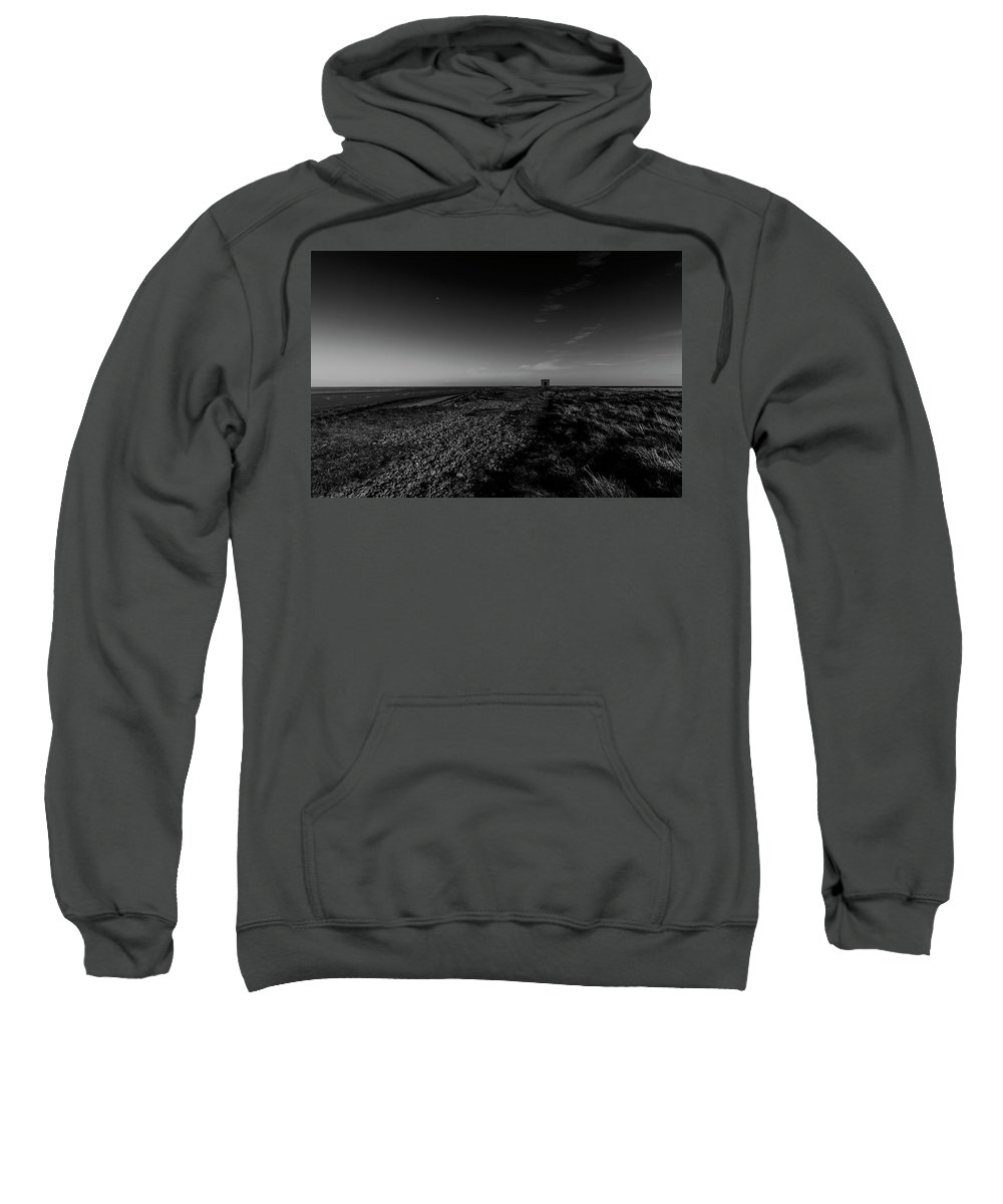 Shed Sweatshirt featuring the photograph Concrete Shed by Keith Elliott