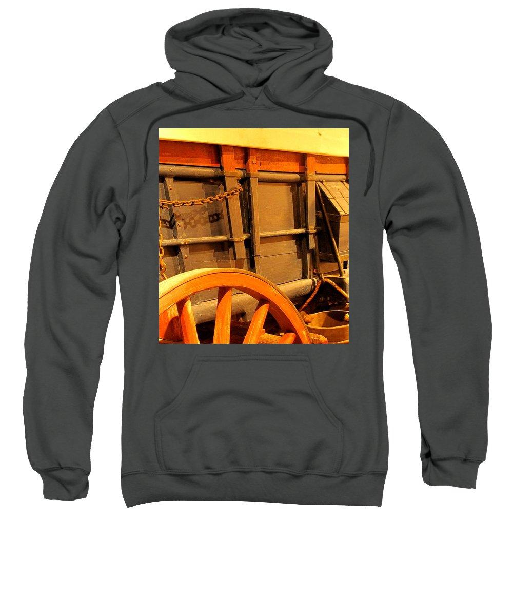 Conestoga Sweatshirt featuring the photograph Conestoga by Ian MacDonald