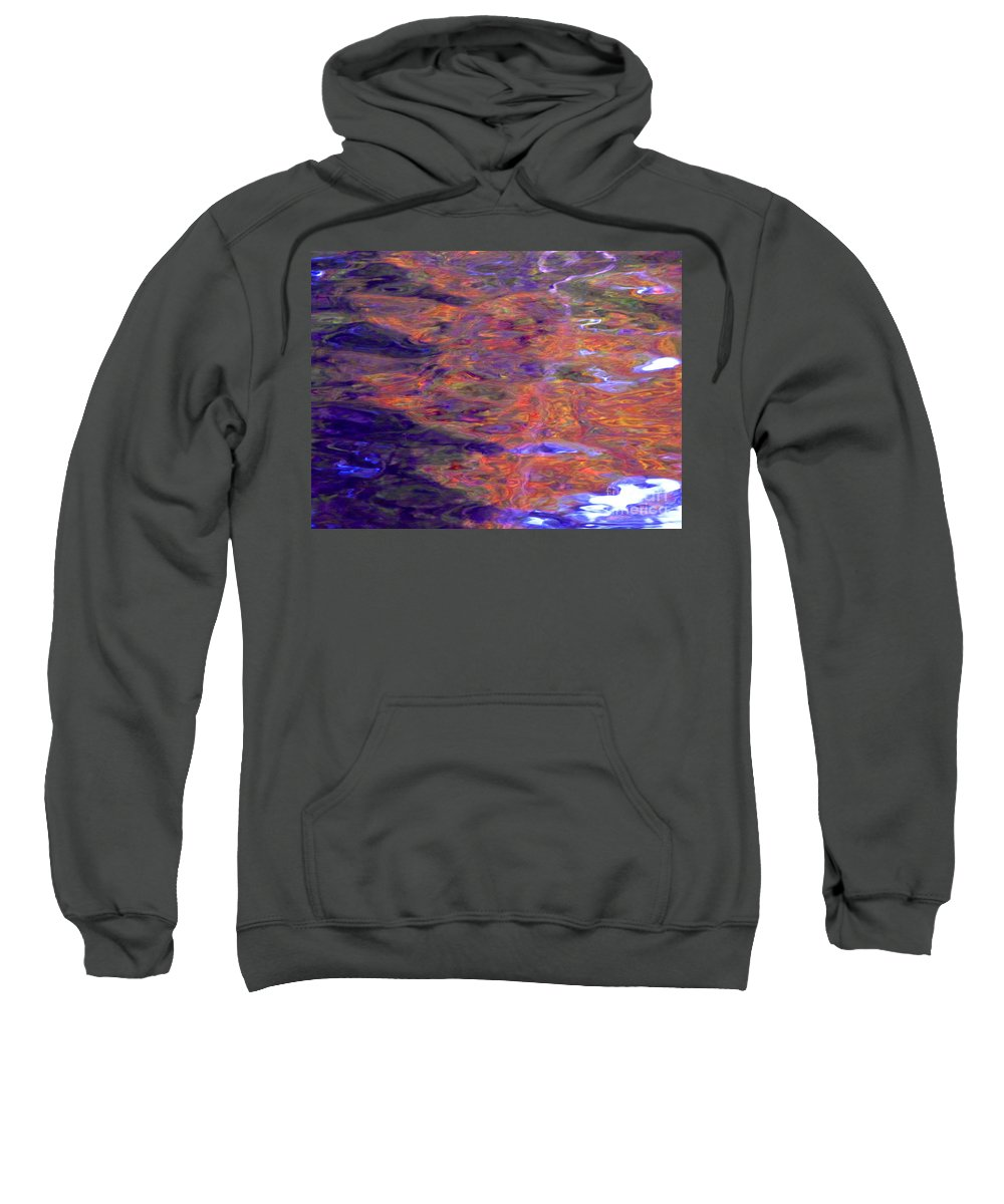 Abstract Sweatshirt featuring the photograph Contour Of Hot Energy Lines by Sybil Staples