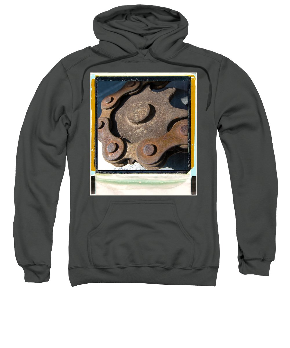 Chain Sweatshirt featuring the photograph Connected by Jeffery Ball