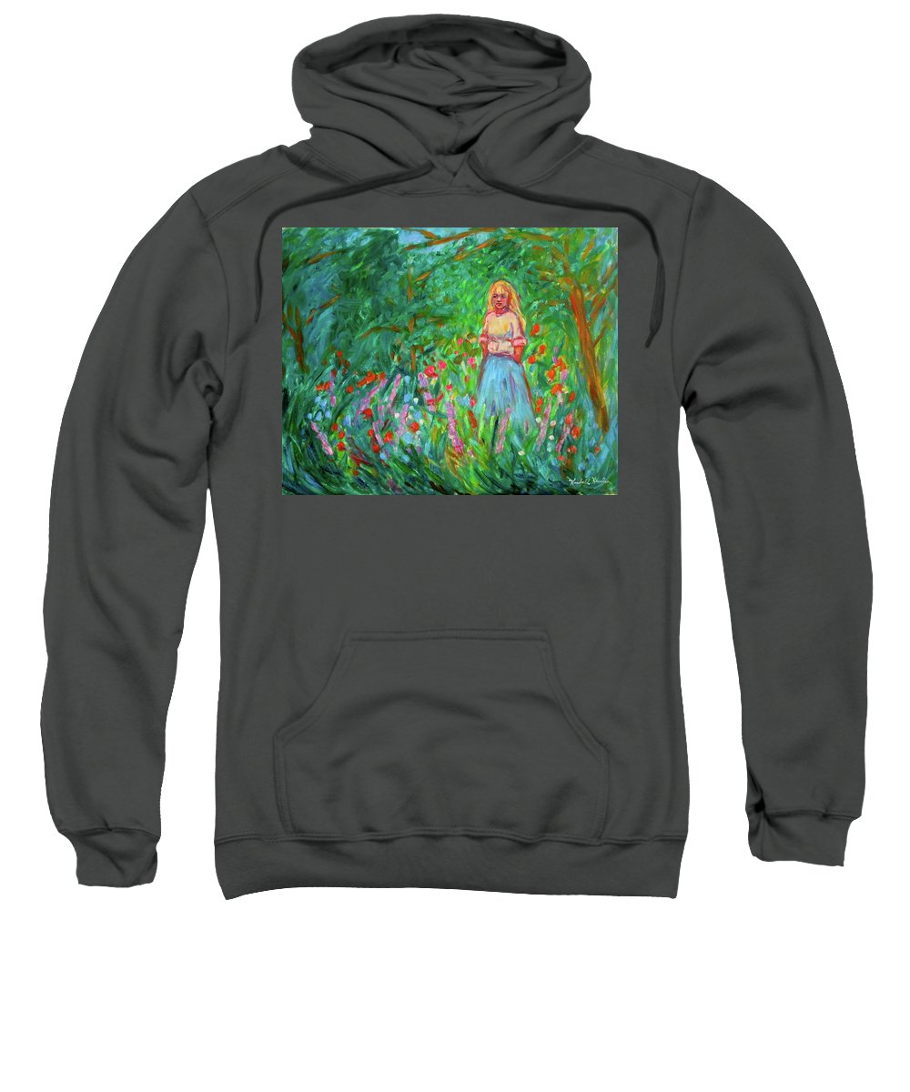 Landscape Sweatshirt featuring the painting Contemplation by Kendall Kessler