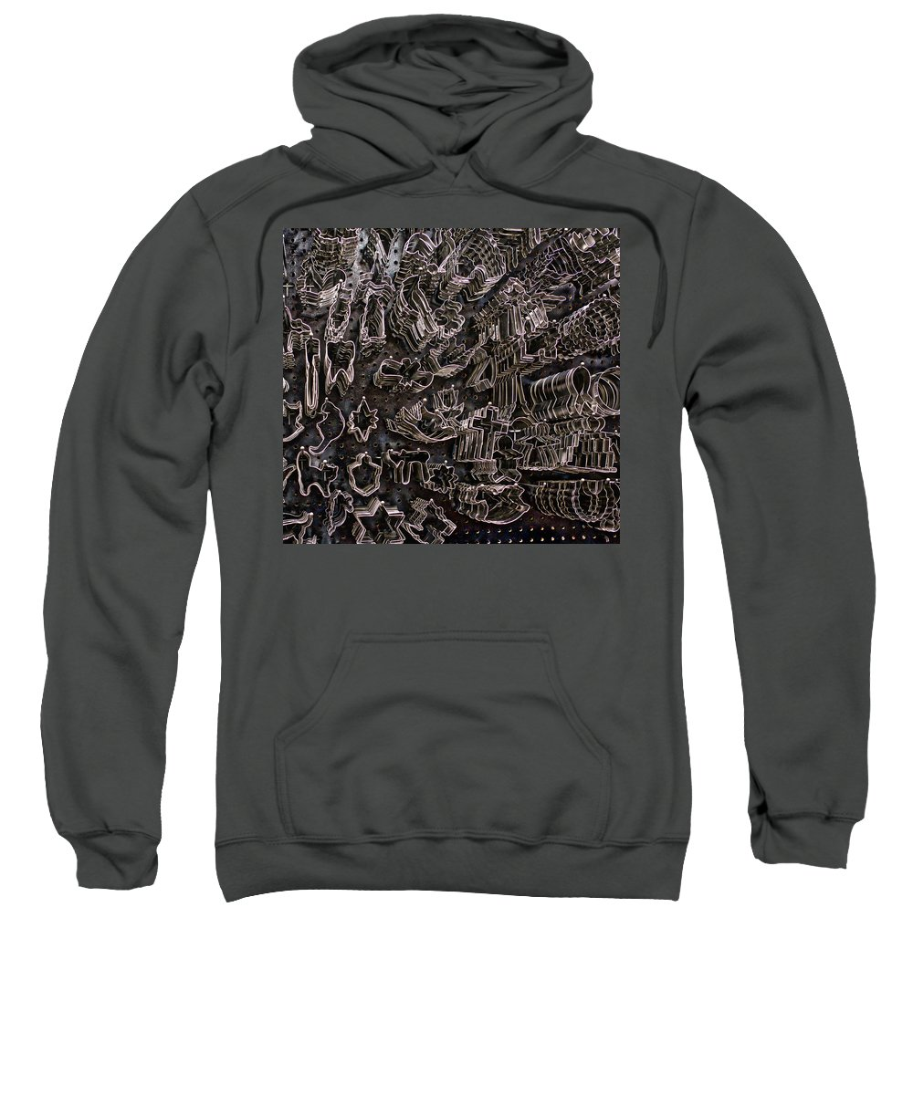 Sweatshirt featuring the photograph Cookie Cutters by Ronald Watkins