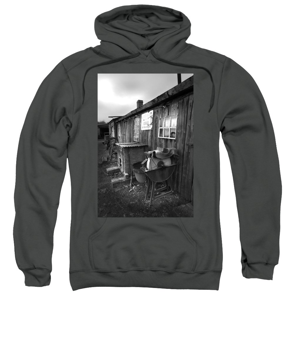 Shack Sweatshirt featuring the photograph Cool Shack Too by Bob Kemp