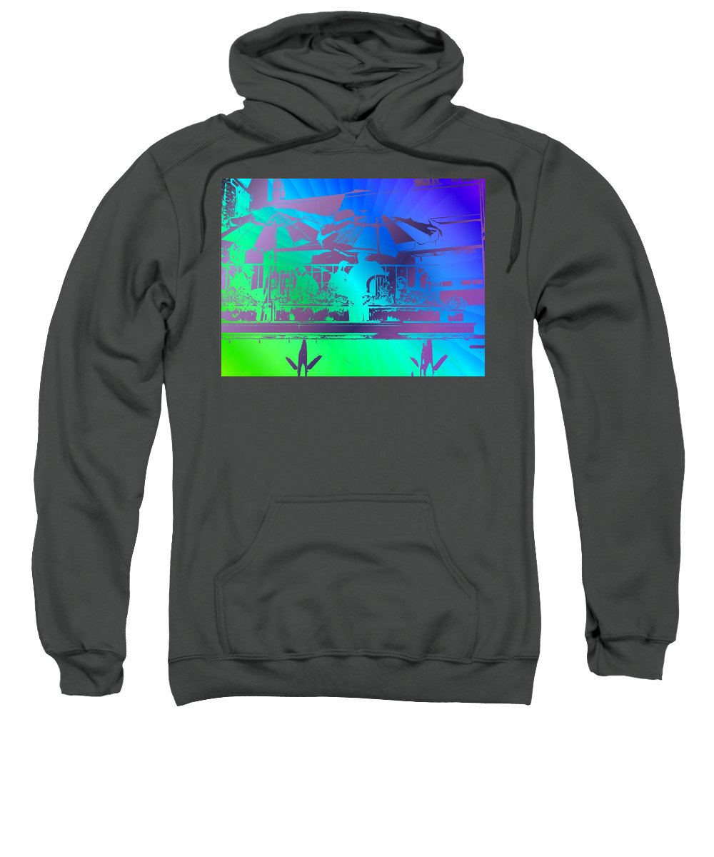 Seattle Sweatshirt featuring the photograph Copacabana by Tim Allen