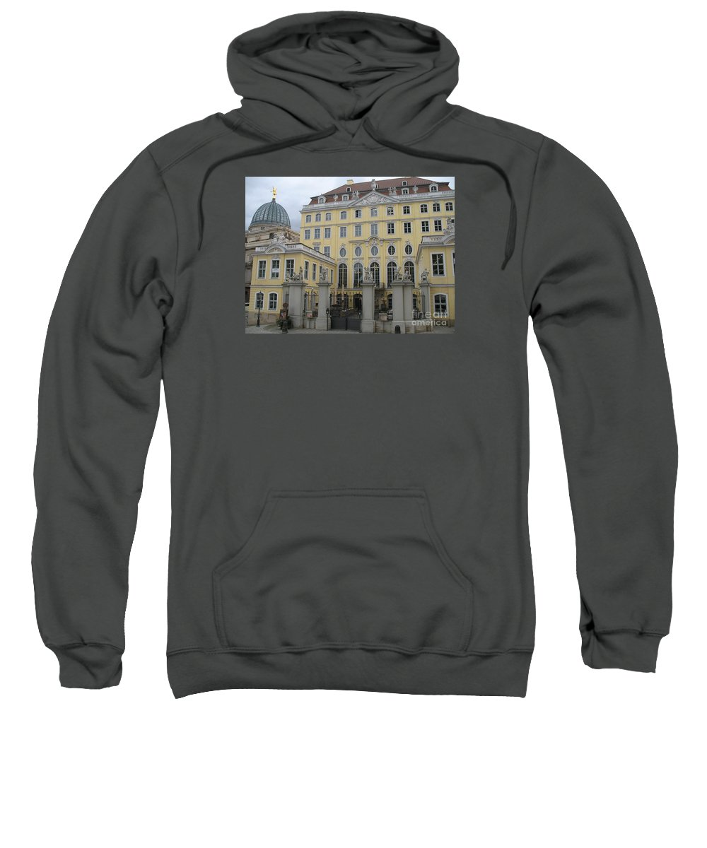 Palais Sweatshirt featuring the photograph Cosel Palais - Dresden - Germany by Christiane Schulze Art And Photography
