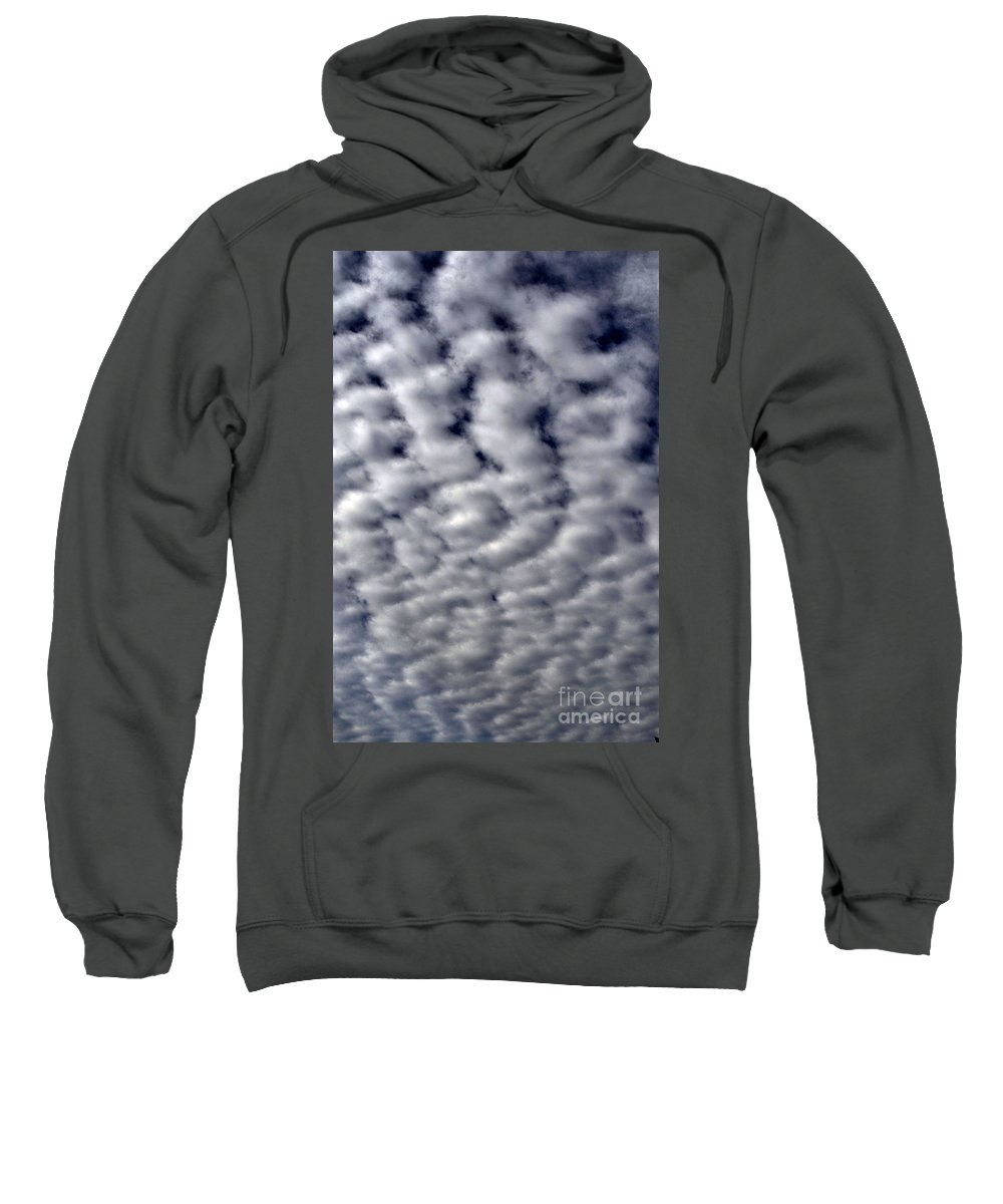 Clay Sweatshirt featuring the photograph Cotton Clouds by Clayton Bruster
