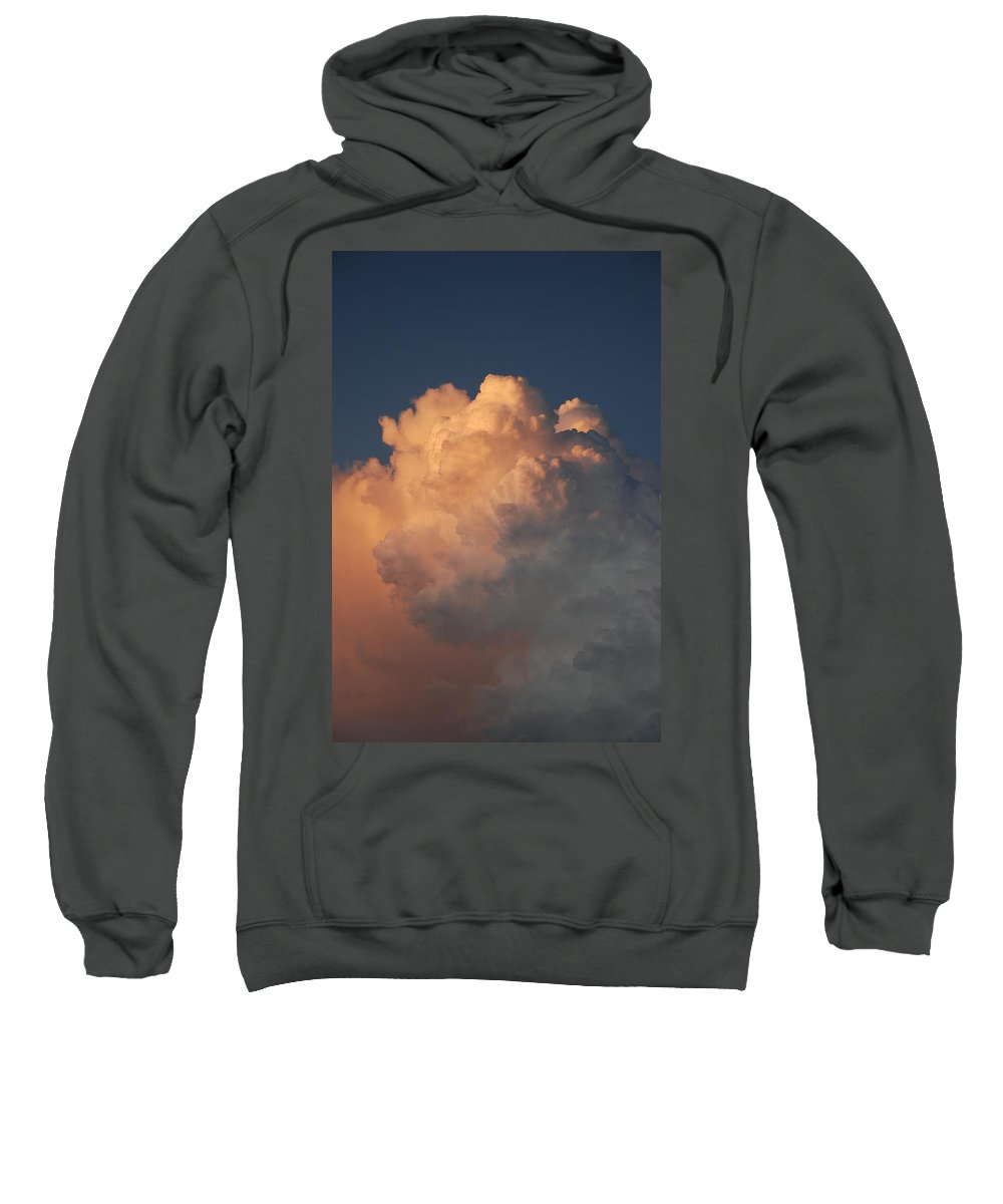 Clouds Sweatshirt featuring the photograph Cottonballs by Rob Hans