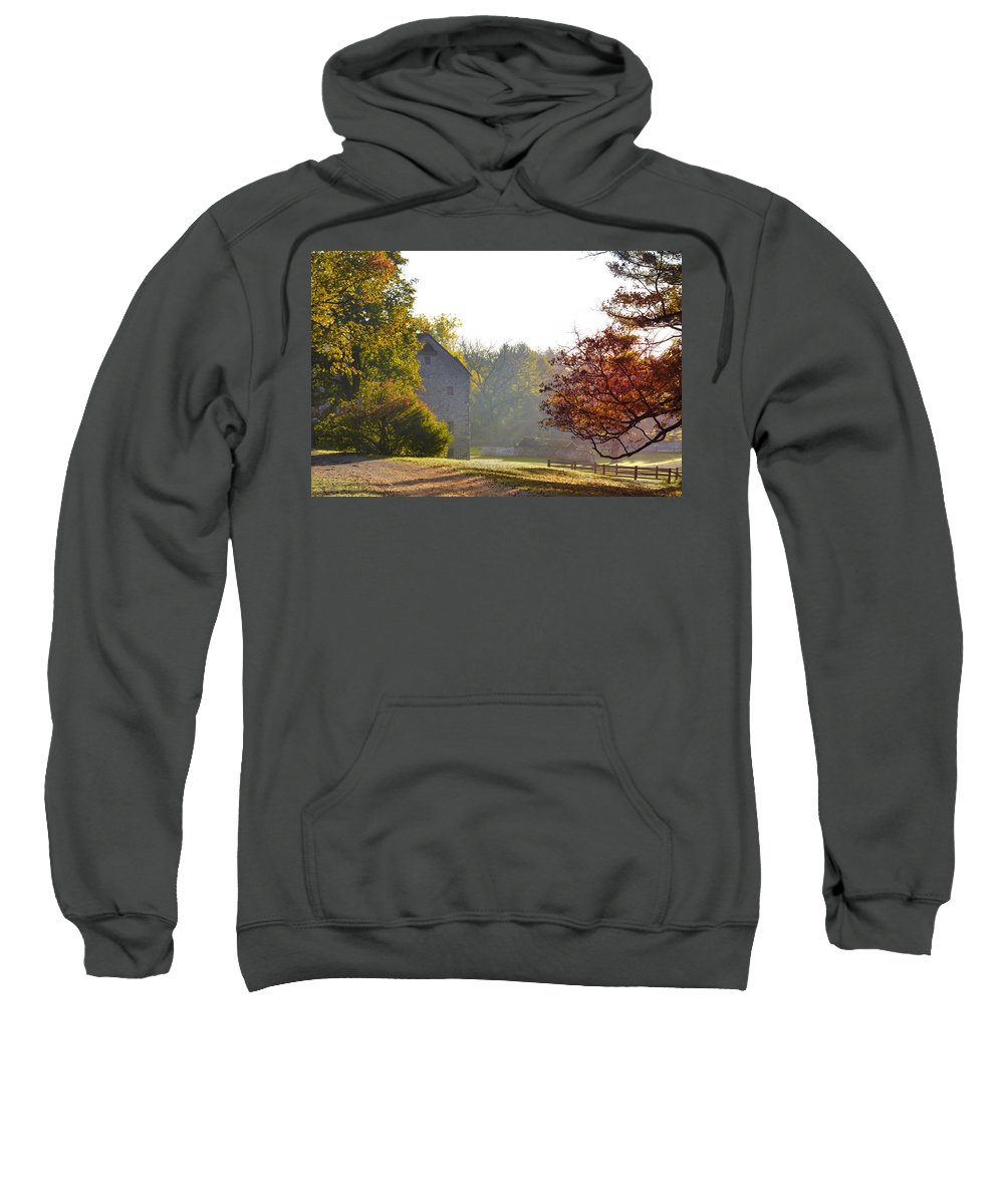 Country Sweatshirt featuring the photograph Country Autumn by Bill Cannon