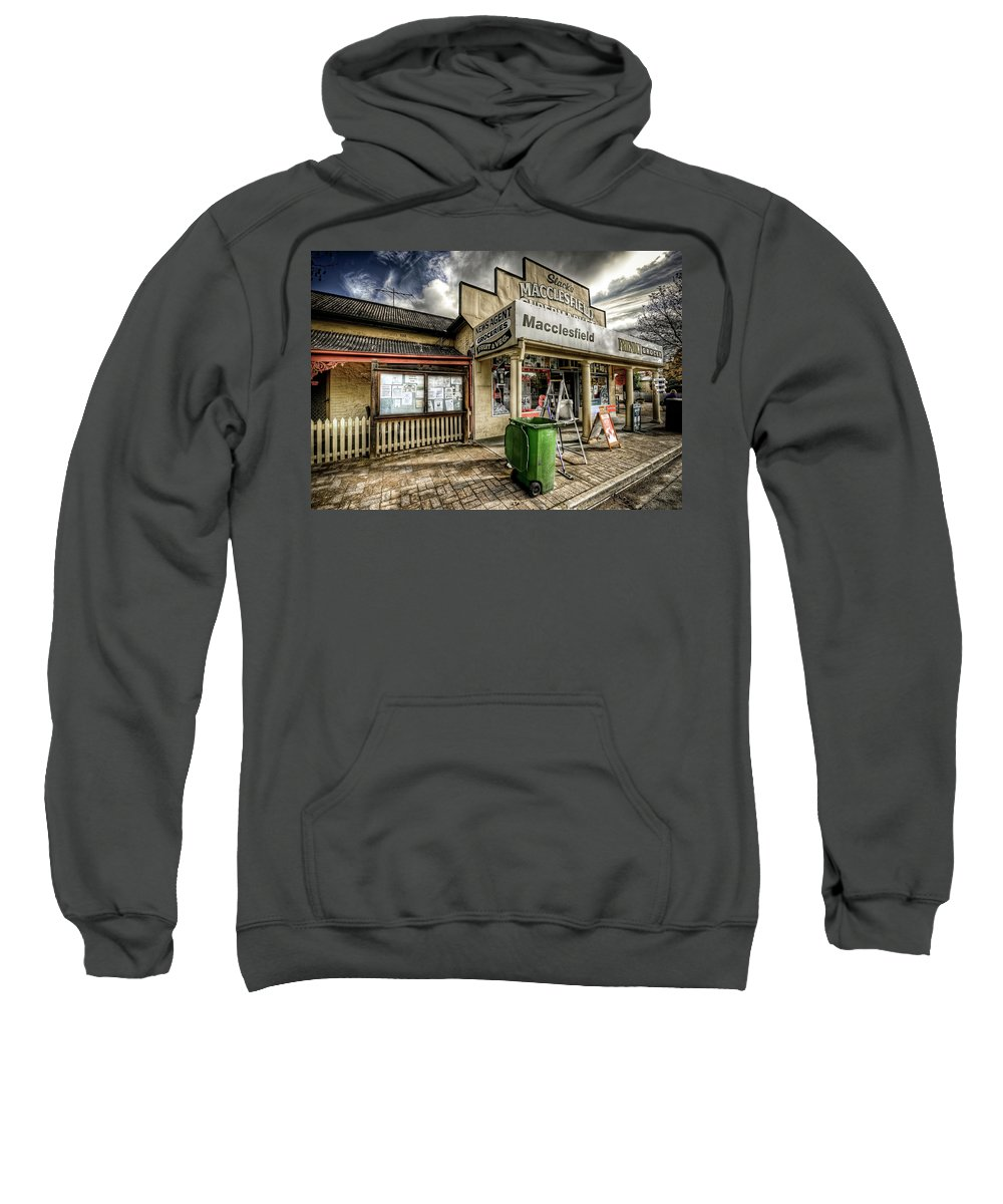Grocer Sweatshirt featuring the photograph Country Grocer by Wayne Sherriff