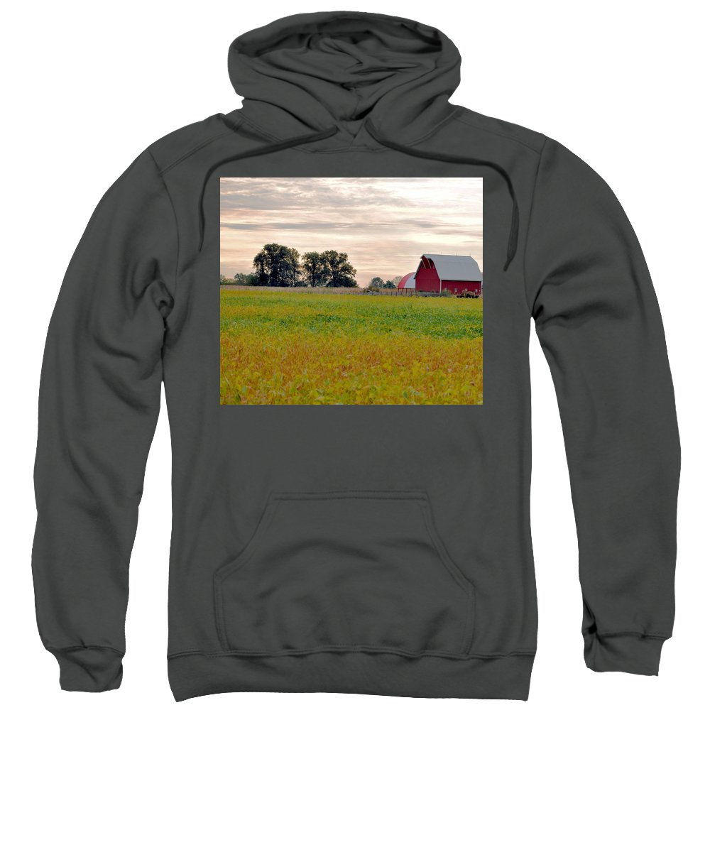 Barn Sweatshirt featuring the photograph Country Living by Brittany Horton