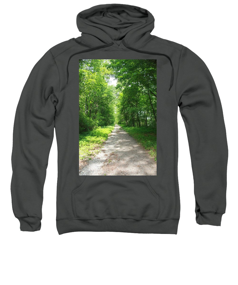 Landscape Sweatshirt featuring the photograph Country Roads by Erin Rosenblum