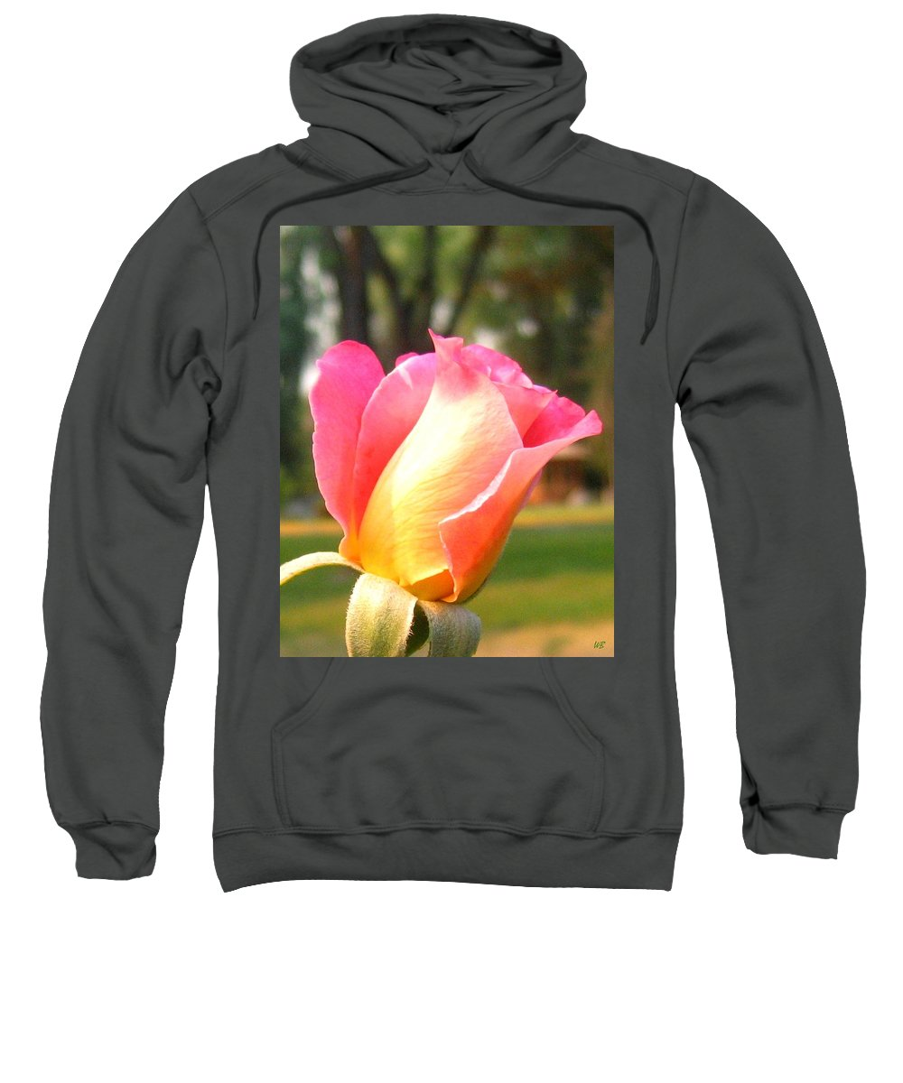 Rose Sweatshirt featuring the photograph Country Rose by Will Borden
