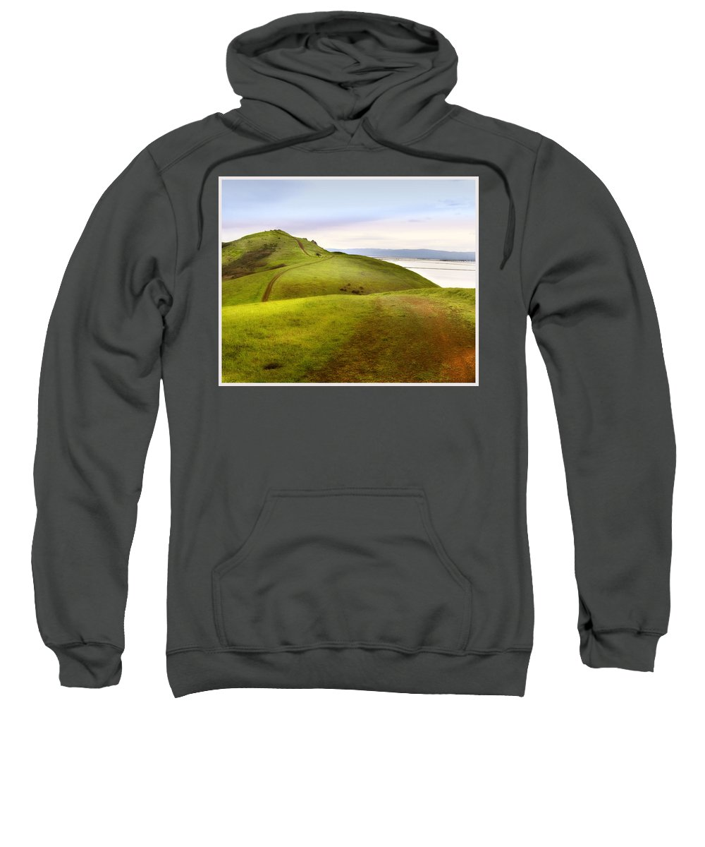 Landscape Sweatshirt featuring the photograph Coyote Hills by Karen W Meyer