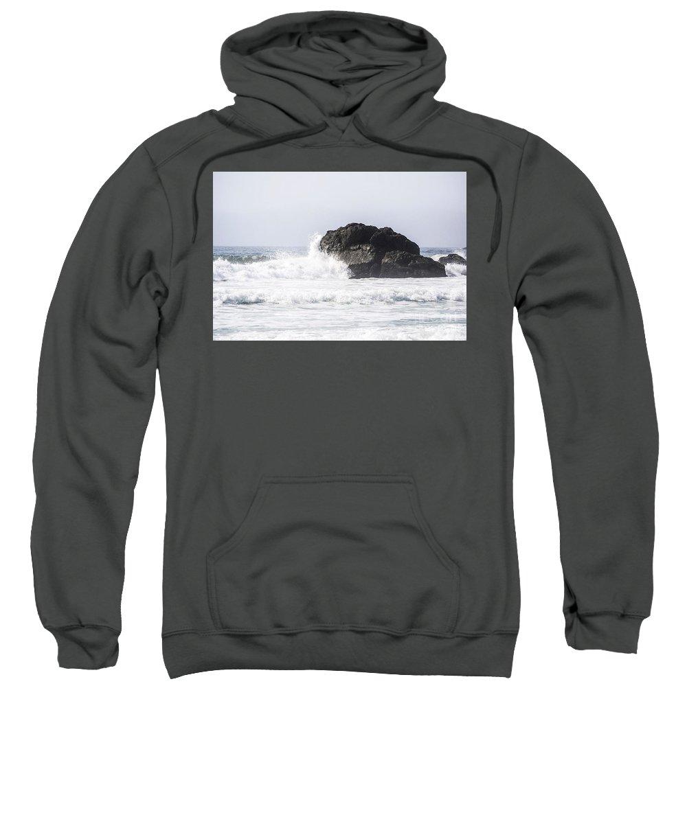 Ocean Sweatshirt featuring the photograph Sonoma by Stephanie Varner
