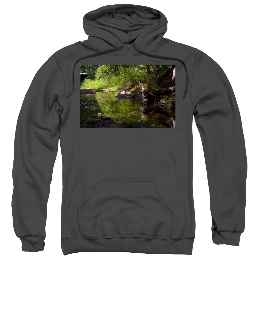 Creek Sweatshirt featuring the photograph Creek 2 by Dale Gray