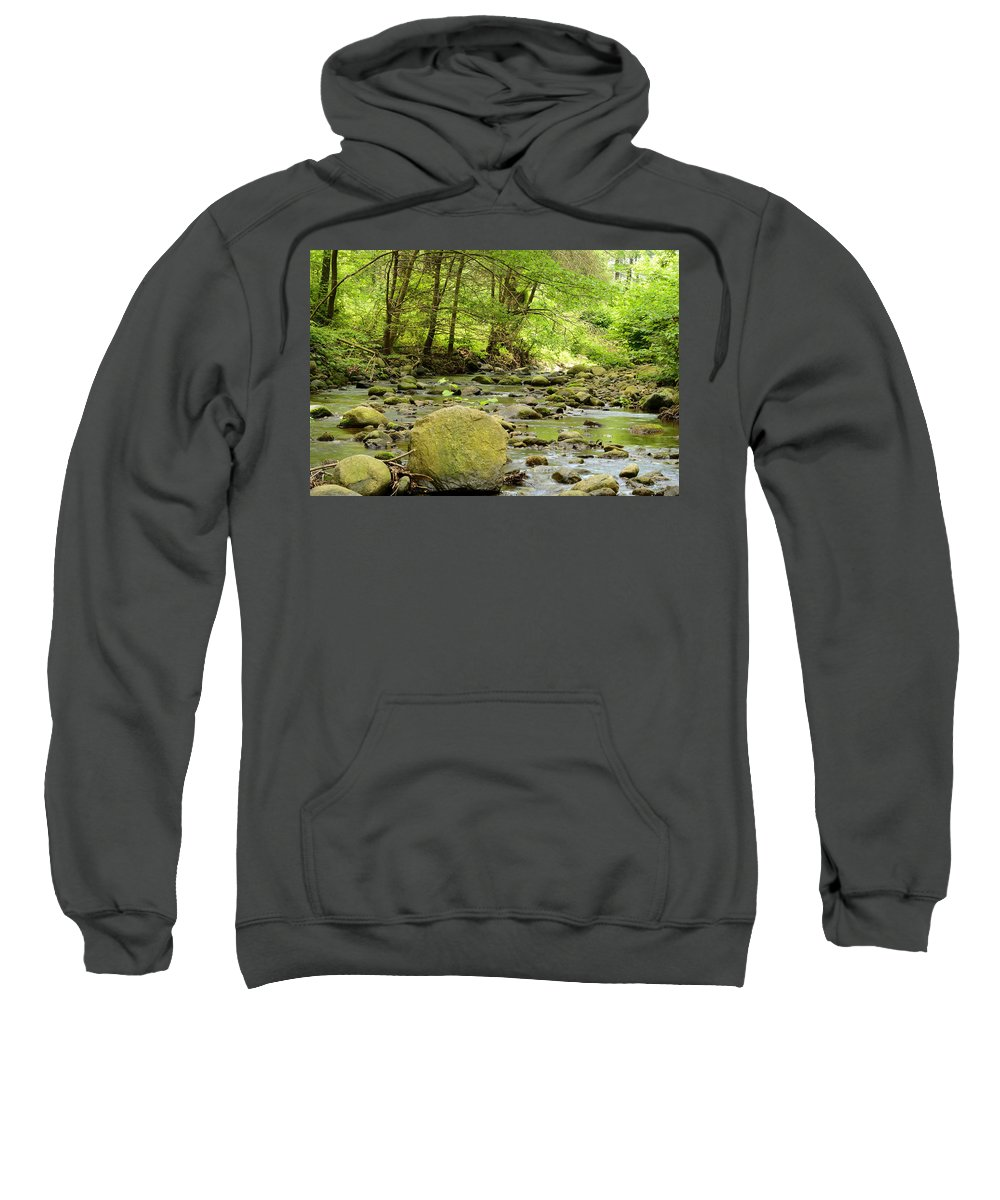 Creek Sweatshirt featuring the photograph Creek 3 by Dale Gray