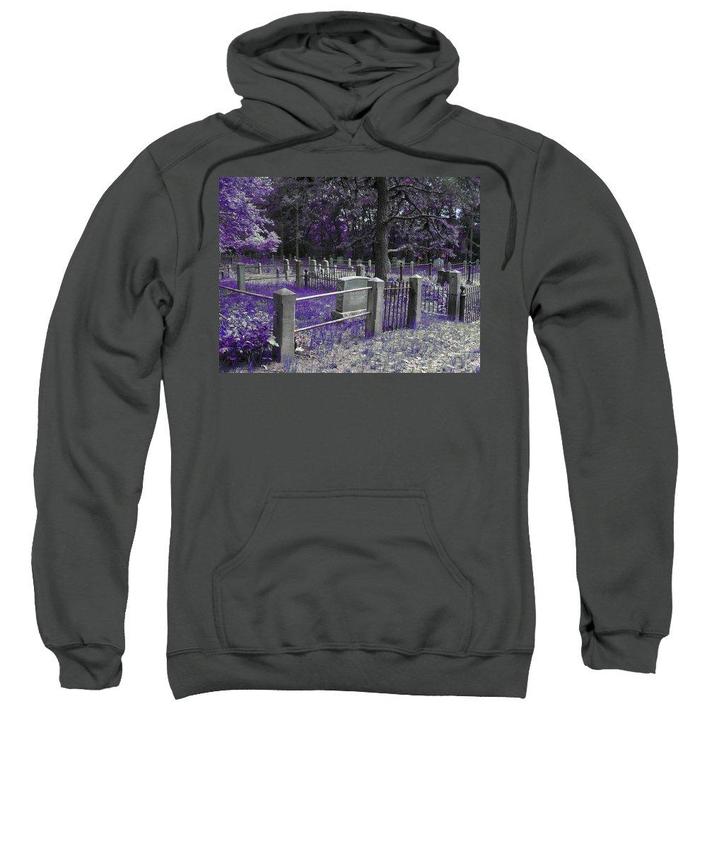 Scenic Sweatshirt featuring the photograph Creeping In by Erin Rosenblum
