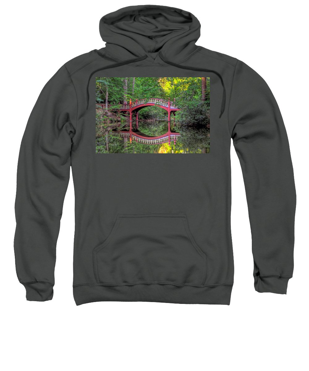 Crim Dell Sweatshirt featuring the photograph Crim Dell Summer by Jerry Gammon