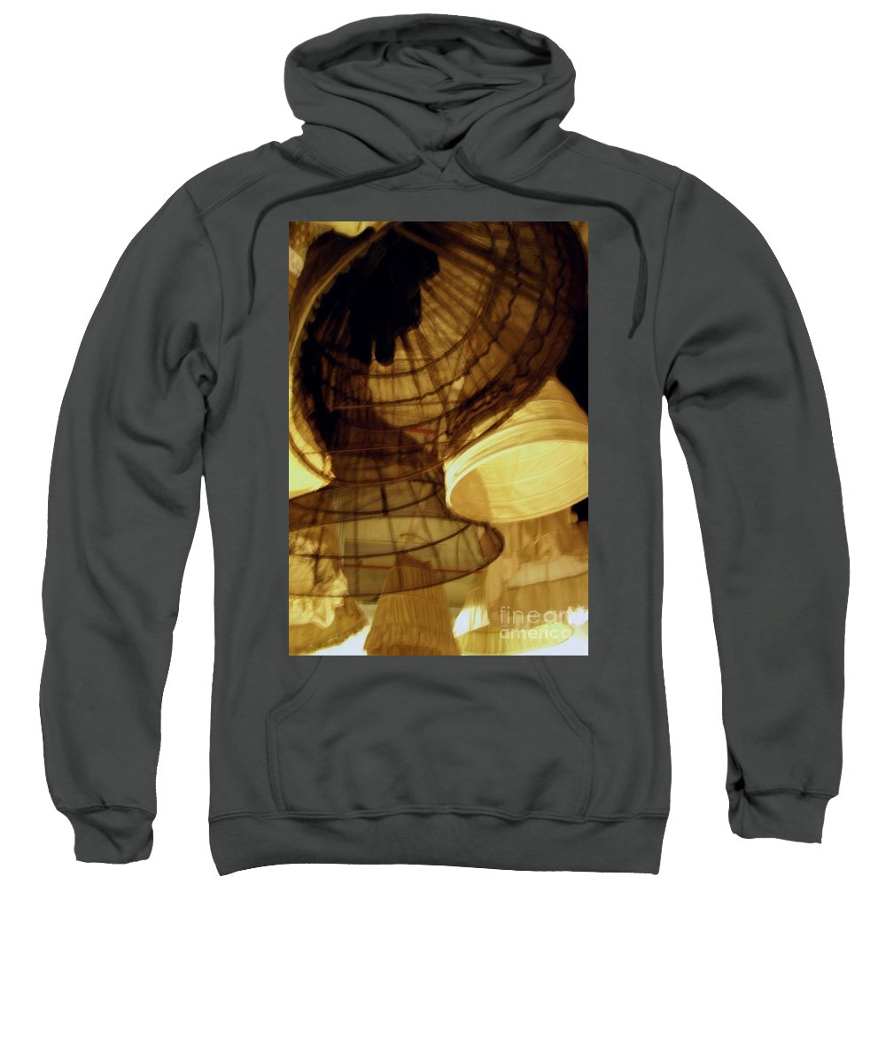 Theatre Sweatshirt featuring the photograph Crinolines by Ze DaLuz