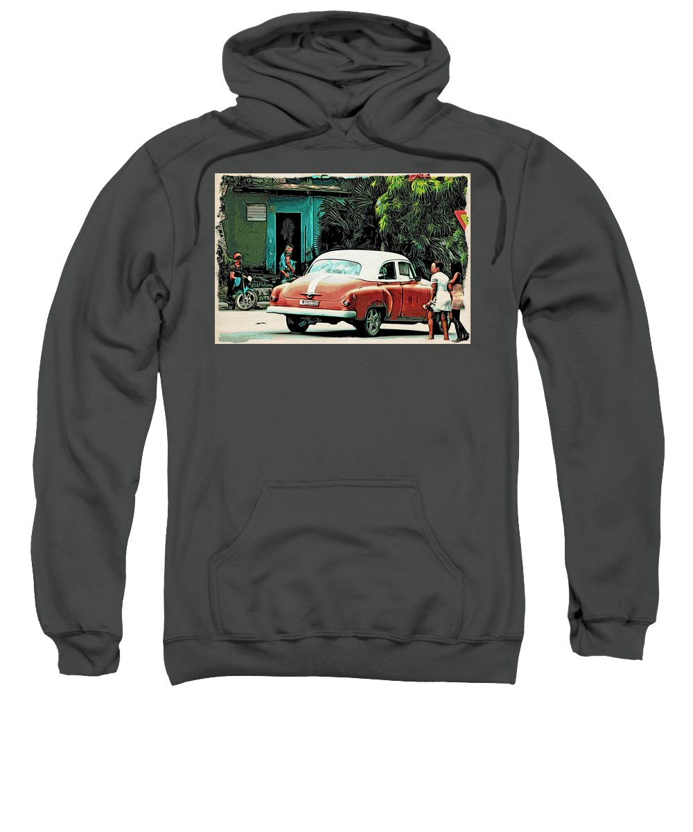 Alicegipsonphotographs Sweatshirt featuring the photograph Crossing by Alice Gipson
