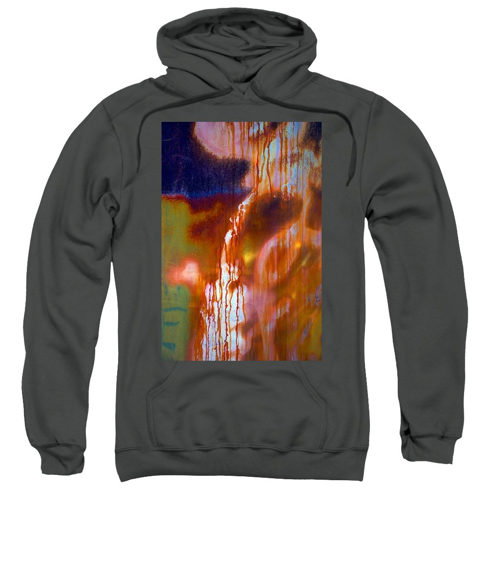 Skip Sweatshirt featuring the photograph Cry Me A River by Skip Hunt