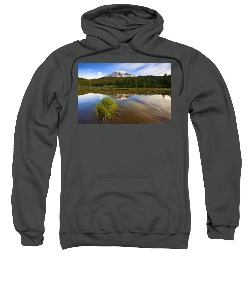 Lake Sweatshirt featuring the photograph Crystal Clear by Mike Dawson