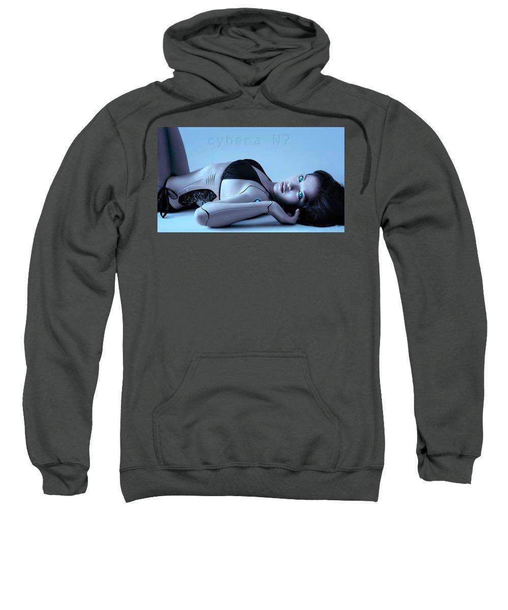 Sci-fi Sweatshirt featuring the photograph Cybera N7 by Ponte Ryuurui