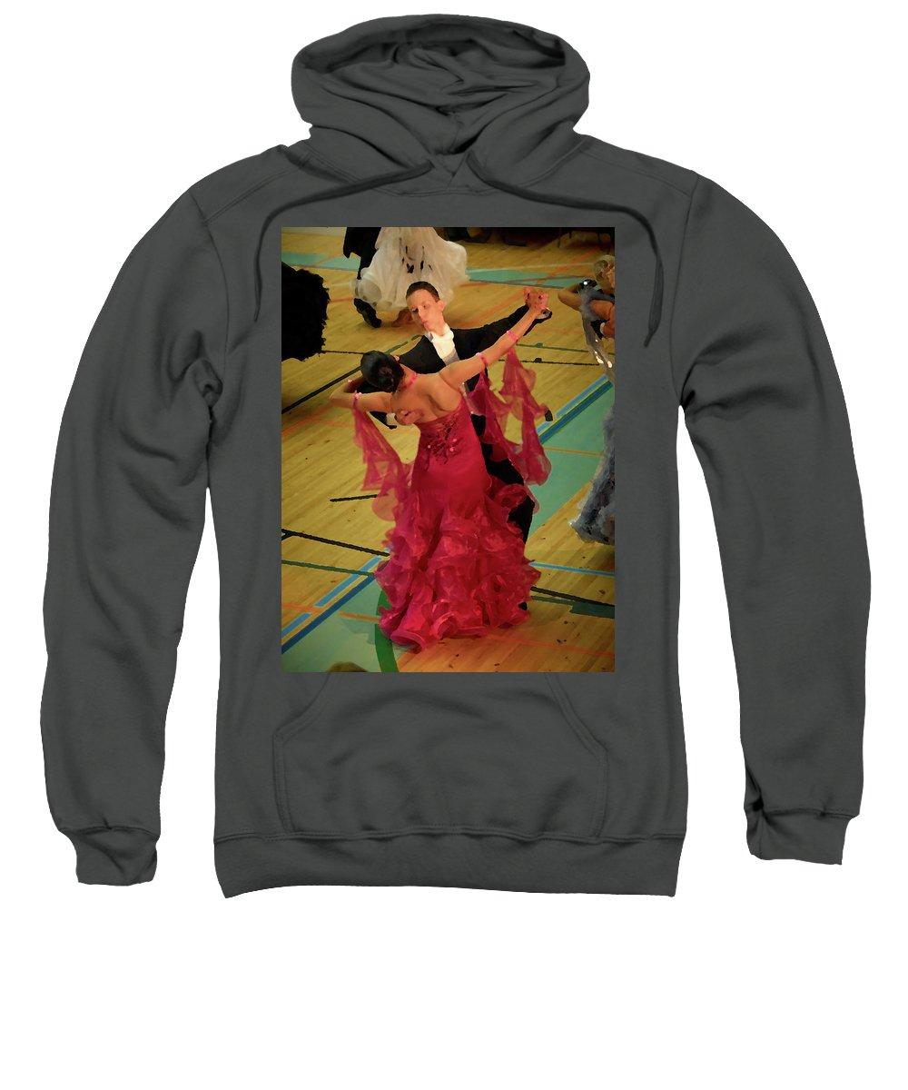 Lehtokukka Sweatshirt featuring the photograph Dance Contest Nr 15 by Jouko Lehto