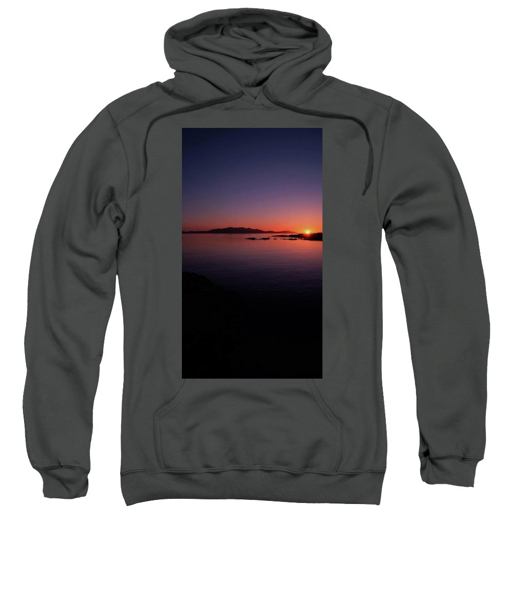 Sweatshirt featuring the photograph Dark Horizon by Scott Ledingham-Park