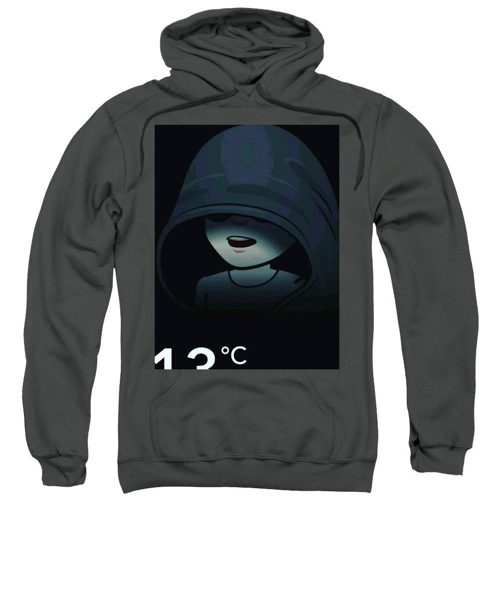 Dark Sweatshirt featuring the photograph Darkness by Anant Prakash