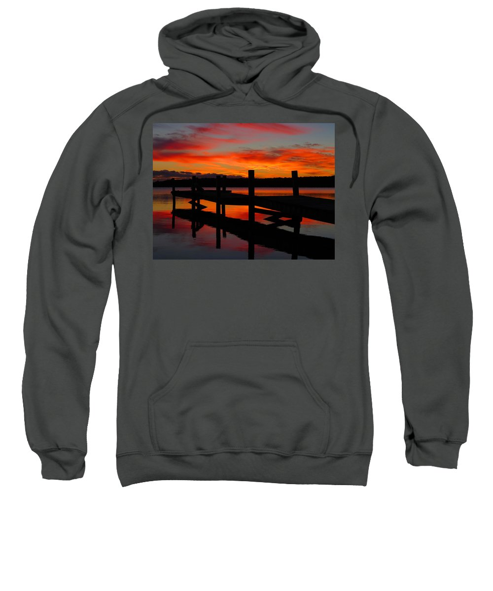 Sunrise Sweatshirt featuring the photograph Dawning Brilliance by Dianne Cowen