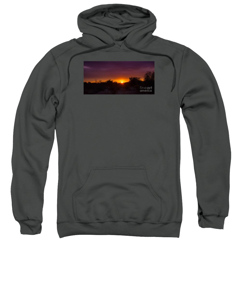 Sunrise Sweatshirt featuring the photograph Daybreak by Amy Sorvillo