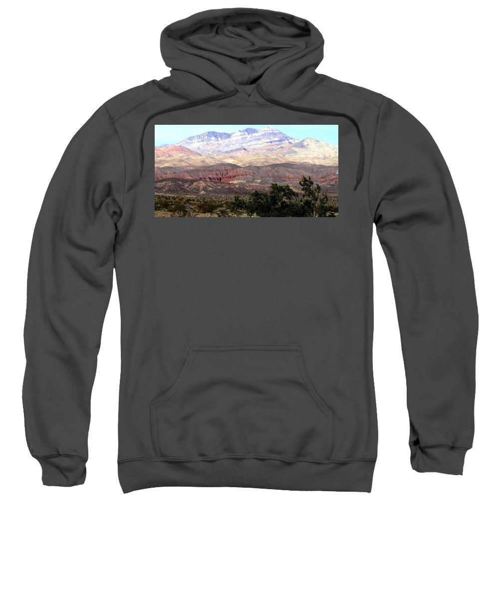 Death Valley Sweatshirt featuring the photograph Death Valley 1 by Will Borden