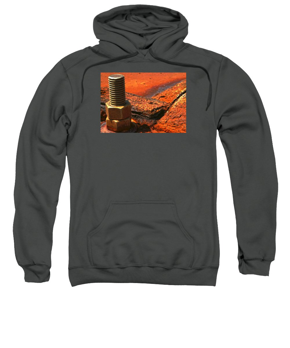 Rust Sweatshirt featuring the photograph Decay by Robert Och